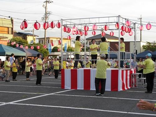 きらく会の盆踊り�@.JPG